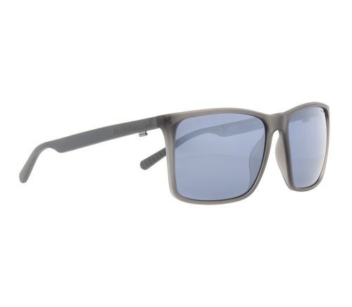 Red Bull SPECT Bow Sunglasses X'tal Dark Grey/Blue with Silver Flash Polarised - futureproof-life
