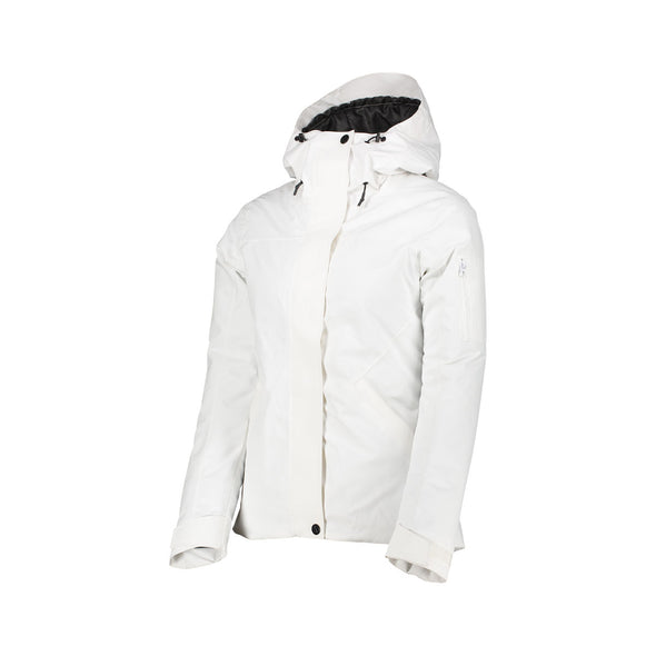 ${brand_name} WearColour Womens BASE Jacket in White  {product_type}