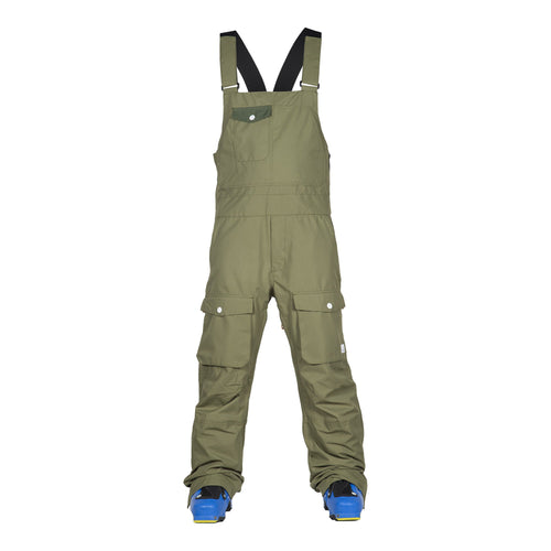 Wear Colour Bib Pant - Loden - Front View