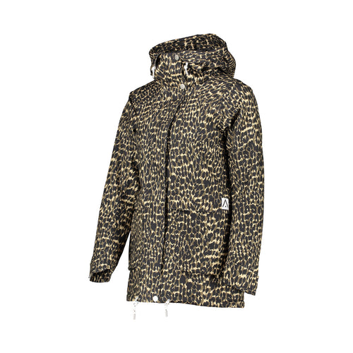 WearColour Womens BLAZE Jacket in Forest Leo