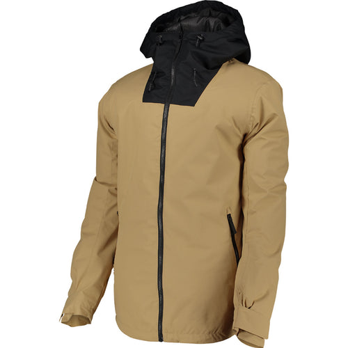 WearColour Mens BLOCK Jacket in Sand
