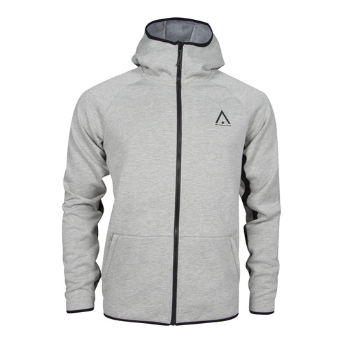 Wear Colour Mens Bond Hood - Grey Melange - Futureproof.life