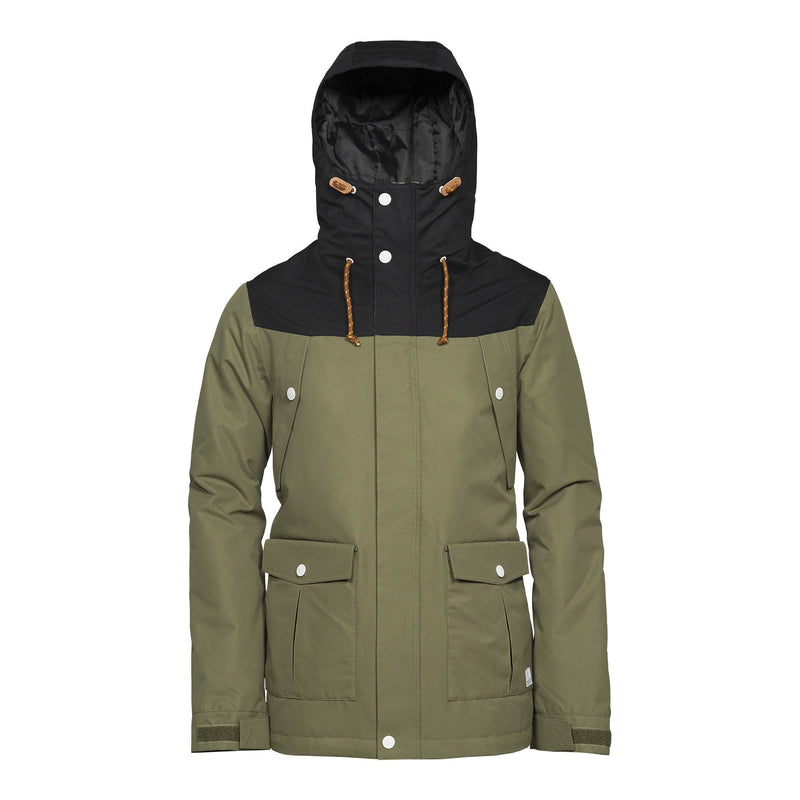 Wear Colour Charge Jacket - Loden - Front View