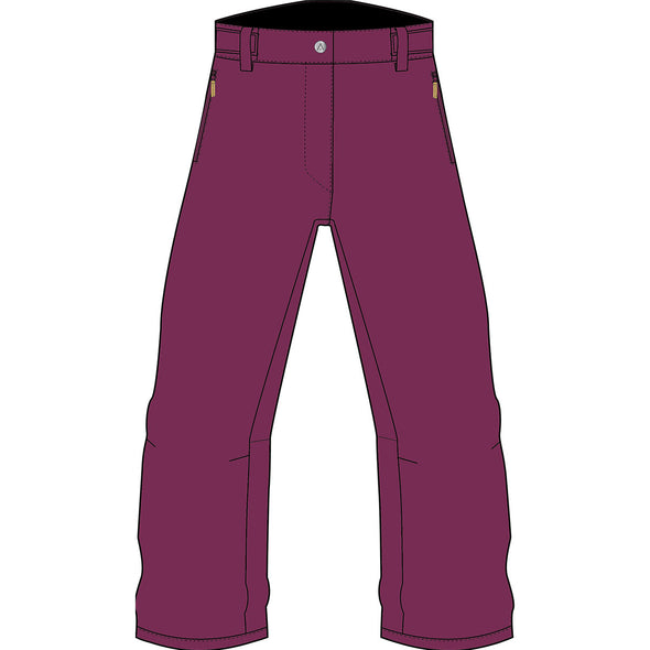 Wearcolour Women's Fine Pant, Deep Purple - FW2021 Sample