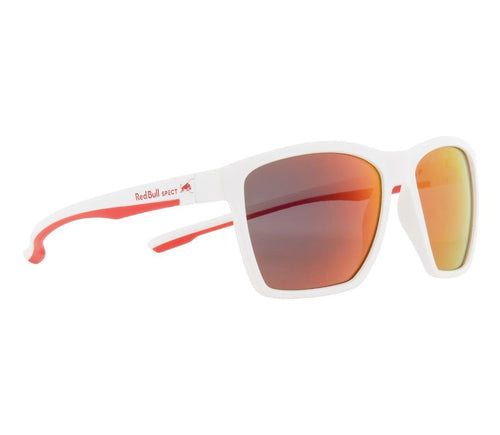 Red Bull SPECT Filp Sunglasses Grey/White/Smoke with Red Mirror Polarised - futureproof-life