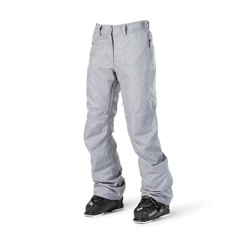 ${brand_name} WearColour Womens FINE Pant in Grey Melange  {product_type}