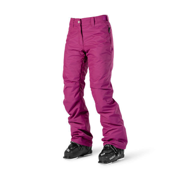 ${brand_name} WearColour Womens FINE Pant in Tibetan Red  {product_type}