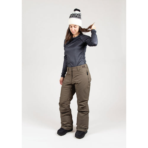 Wearcolour Women's Fine Pant, Mud - FW2021 Sample