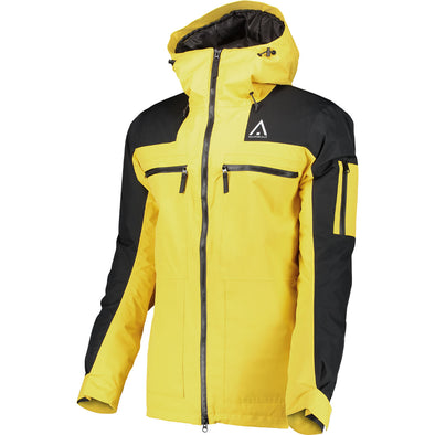 WearColour Mens Frame Jacket - Daffodil