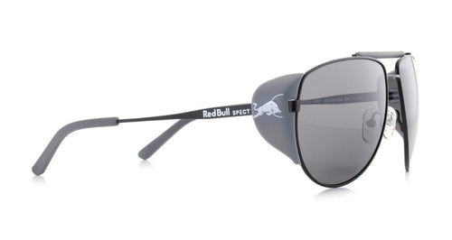 Red Bull SPECT Grayspeak Sunglasses Black/Smoke Polarised - futureproof-life