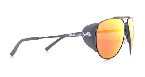 Red Bull SPECT Grayspeak Sunglasses Gun/Smoke with Red Mirror Polarised - futureproof-life
