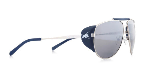 Red Bull SPECT Grayspeak Sunglasses Silver/Smoke with Silver Flash Polarised - futureproof-life