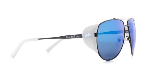 Red Bull SPECT Grayspeak Sunglasses Black/Smoke with Blue Mirror Polarised - futureproof-life