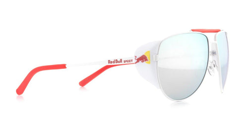 Red Bull SPECT Grayspeak Sunglasses White/Smoke with Silver Mirror Polarised - futureproof-life