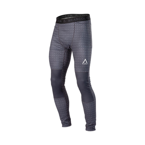 WearColour Mens GUARD Pant in Black Herringbone
