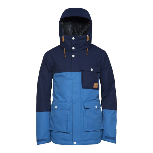 Wear Colour Horizon Jacket - Swedish Blue - Front View