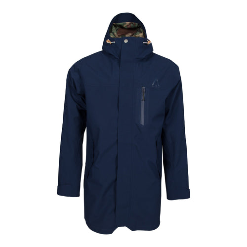 Wear Colour Hurricane Parka - Midnight Blue - Futureproof.life