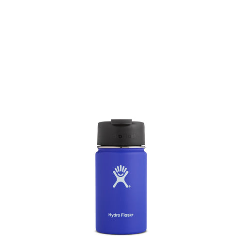 Hyrdo Flask 12 oz Wide Mouth w/Flip Lid - Blueberry // Futureproof.life (perspective)