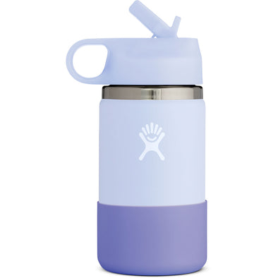 Hydro Flask 12 oz Kids Wide Mouth with Straw Lid in Fog