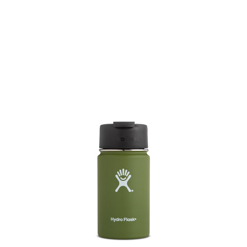Hydro Flask 12 oz Wide Mouth w/Flip Lid - Olive // Futureproof.life 1