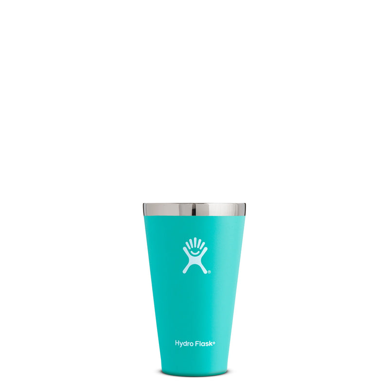 Hyrdo Flask 16 oz True Pint - Mint // Futureproof.life (perspective)