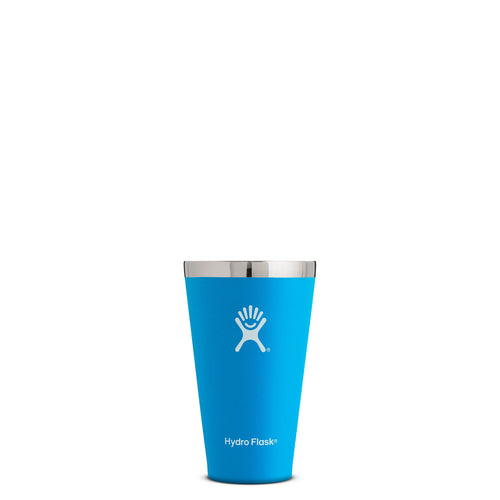 Hyrdo Flask 16 oz True Pint - Pacific // Futureproof.life (perspective)