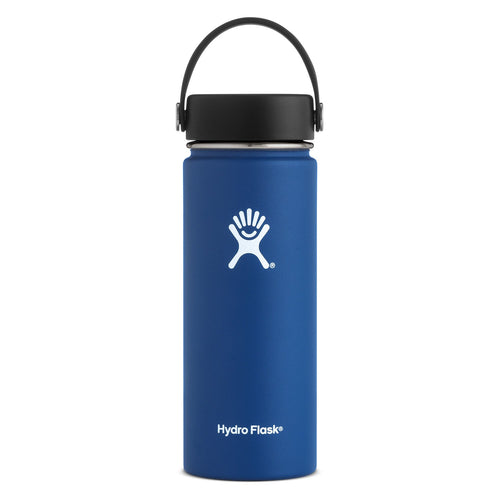Hyrdo Flask 18 oz Wide Mouth - Cobalt // Futureproof.life (large)
