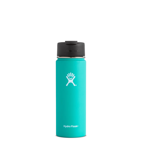 Hyrdo Flask 20 oz Wide Mouth w/Flip Lid - Mint // Futureproof.life (perspective)