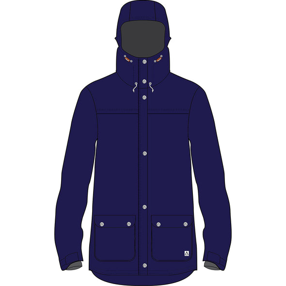 Wearcolour Ida Jacket - Blue Iris - FW2021 Sample