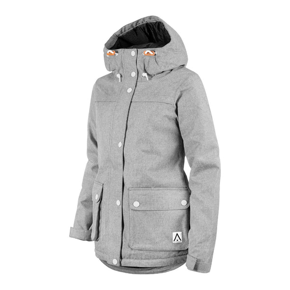 ${brand_name} WearColour Womens IDA Jacket in Grey Melange  {product_type}