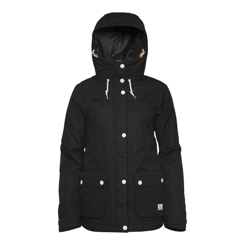Wear Colour Ida Jacket - Black - Front View