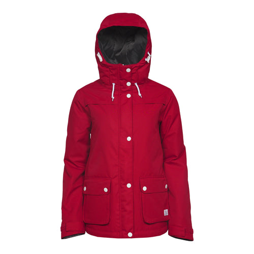 Wear Colour Ida Jacket - Red - Front View