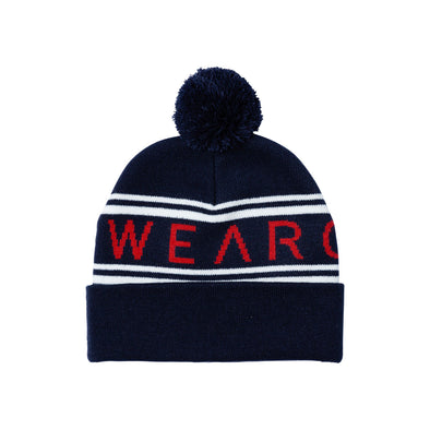${brand_name} WearColour KNIT Beanie in Blue Iris  {product_type}