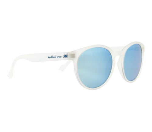 Red Bull SPECT Lace Sunglasses X'tal Clear/Smoke with Ice Blue Mirror Polarised - futureproof-life