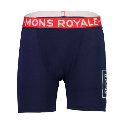 Mons Royale Mens Hold 'em Boxer Navy - futureproof-life