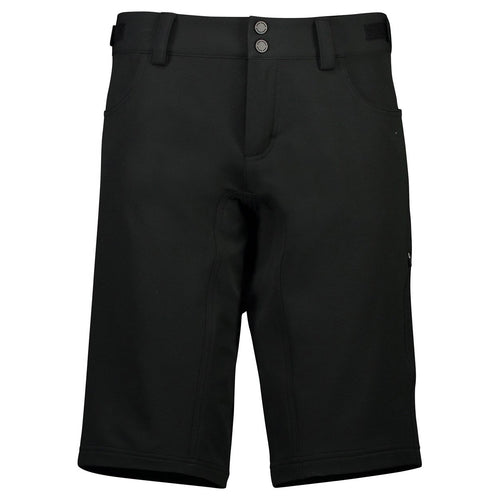 Mons Royale Womens Momentum Bike Shorts Black - futureproof-life