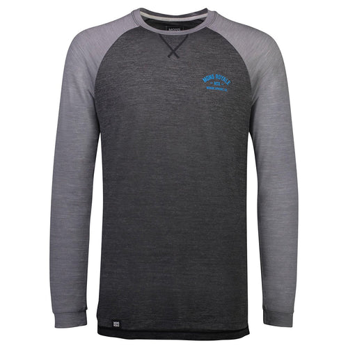 Mons Royale Mens Vapour Lite LS Smoke/Grey - futureproof-life