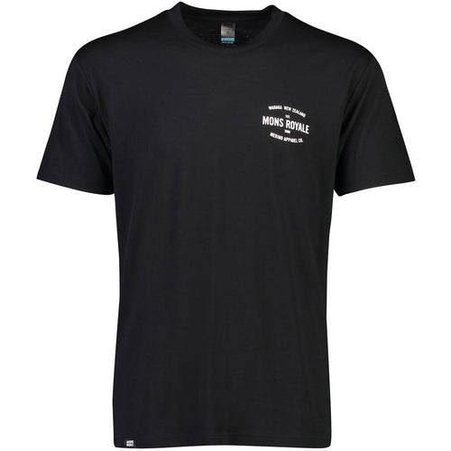 Mons Royale Icon T-Shirt - Black