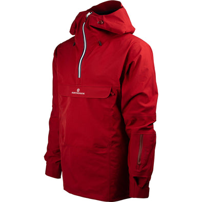 Amundsen Peak Anorak Ruby Red Mens