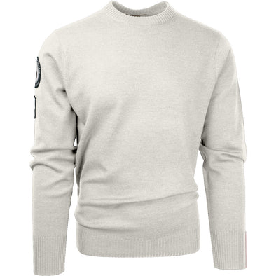 Amundsen Peak Crew Sweater, Oatmeal - Mens