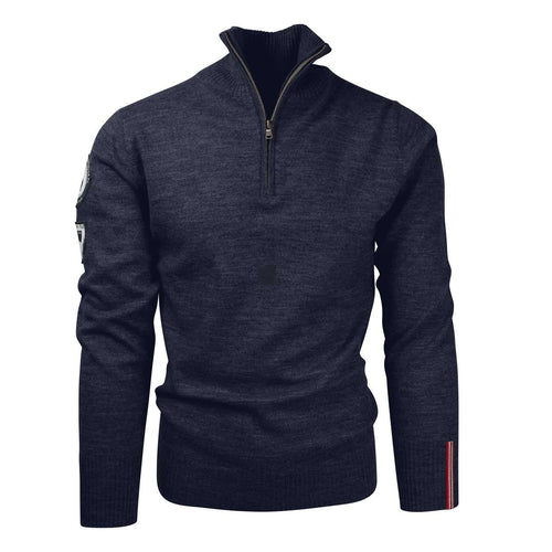 ${brand_name} Amundsen Peak Half Zip Faded Navy Sweater Mens Faded Navy / XL {product_type}