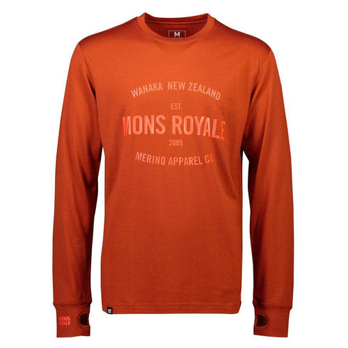 Mons Royale Yotei Tech LS - Clay // Futureproof.life