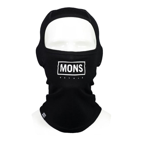 Mons Royale B3 Balaclava Black // Futureproof.life