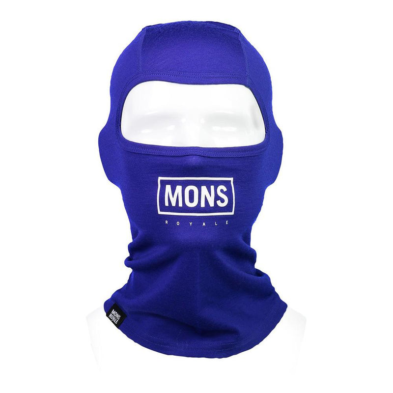 Mons Royale B3 Balaclava Electric Blue // Futureproof.life