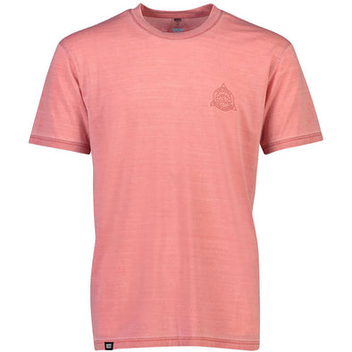 Mons Royale Icon T-Shirt Garment Dyed - Red