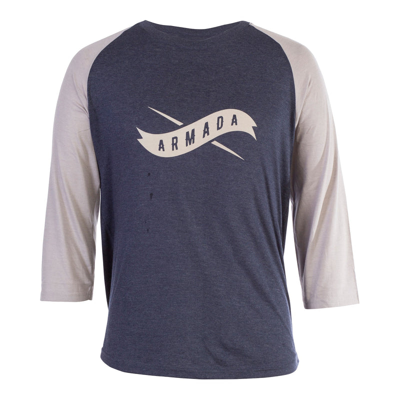 Armada Outfielder Premium Tee - Navy - Front View