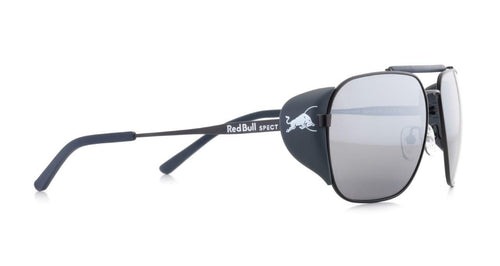 Red Bull SPECT Pikespeak Sunglasses Black/Smoke with Silver Flash Polarised - futureproof-life