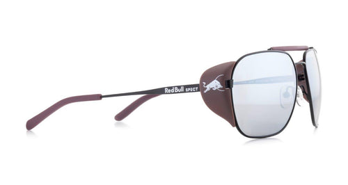 Red Bull SPECT Pikespeak Sunglasses Black/Smoke with Silver Mirror Polarised - futureproof-life