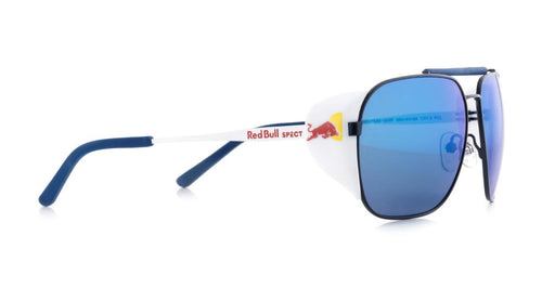 Red Bull SPECT Pikespeak Sunglasses Blue/Smoke with Blue Mirror Polarised - futureproof-life
