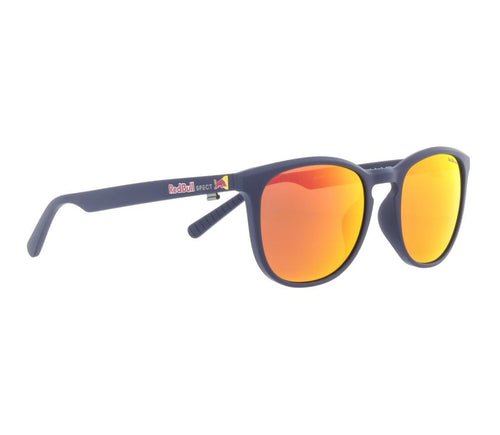 Red Bull SPECT Steady Sunglasses Blue/Brown with Red Mirror Polarised - futureproof-life